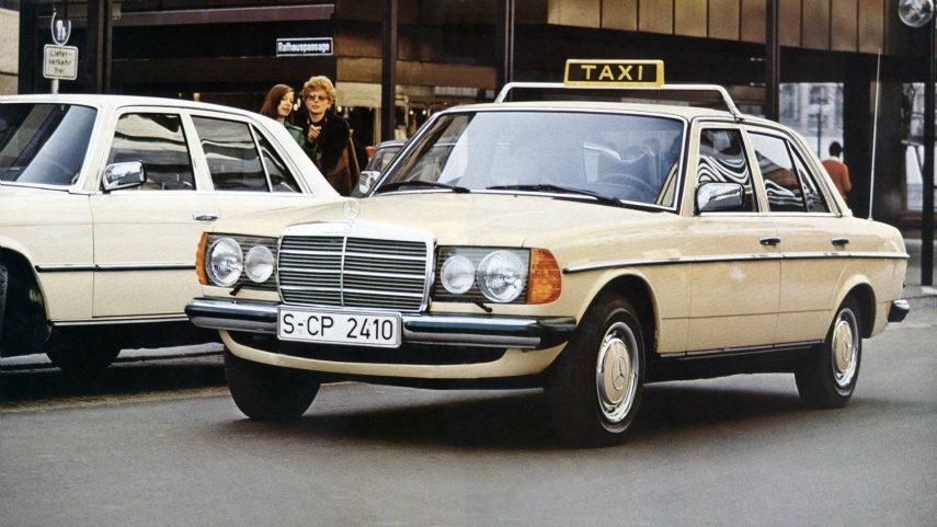 Coche del día: Mercedes-Benz 300 D (W123)