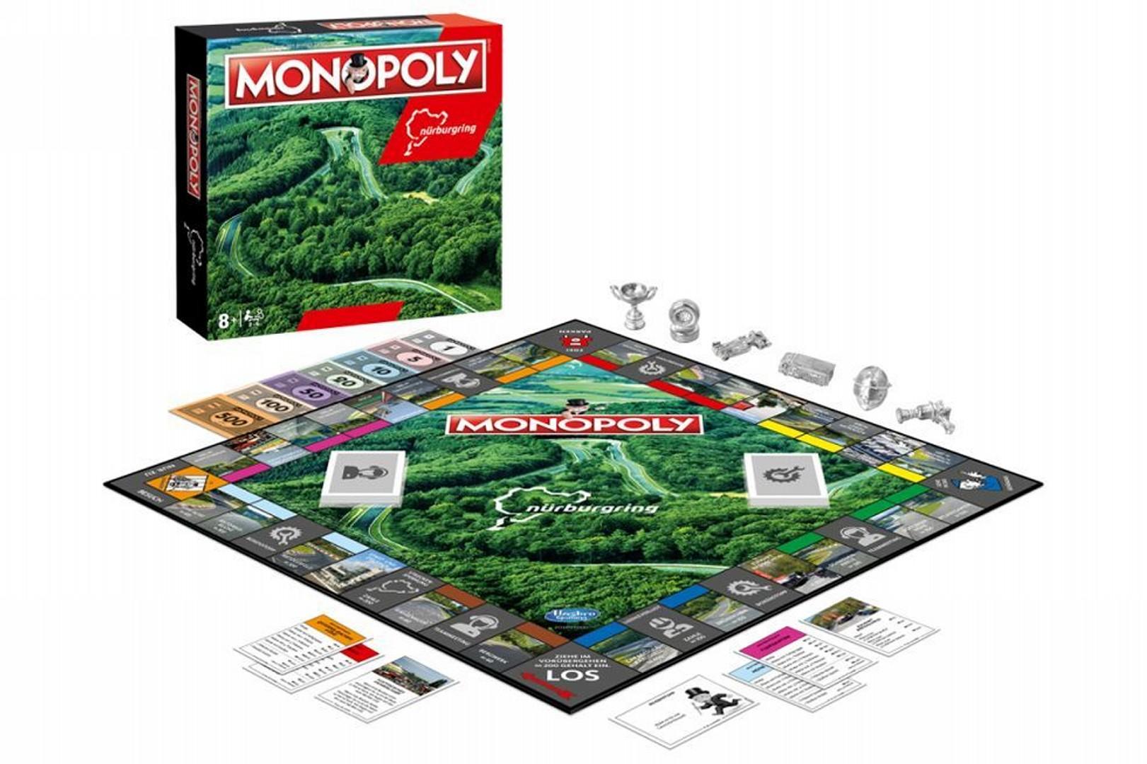 Regálate el Monopoly del circuito de Nürburgring