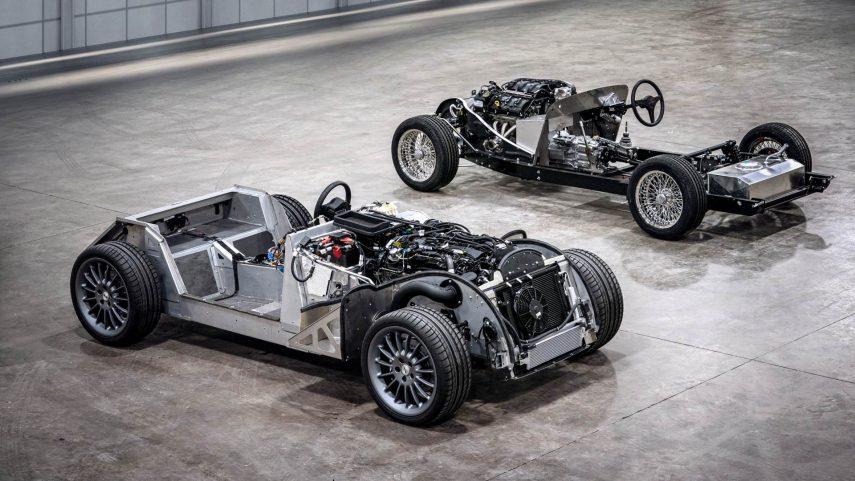 Morgan extenderá su nuevo chasis de aluminio al resto de la gama