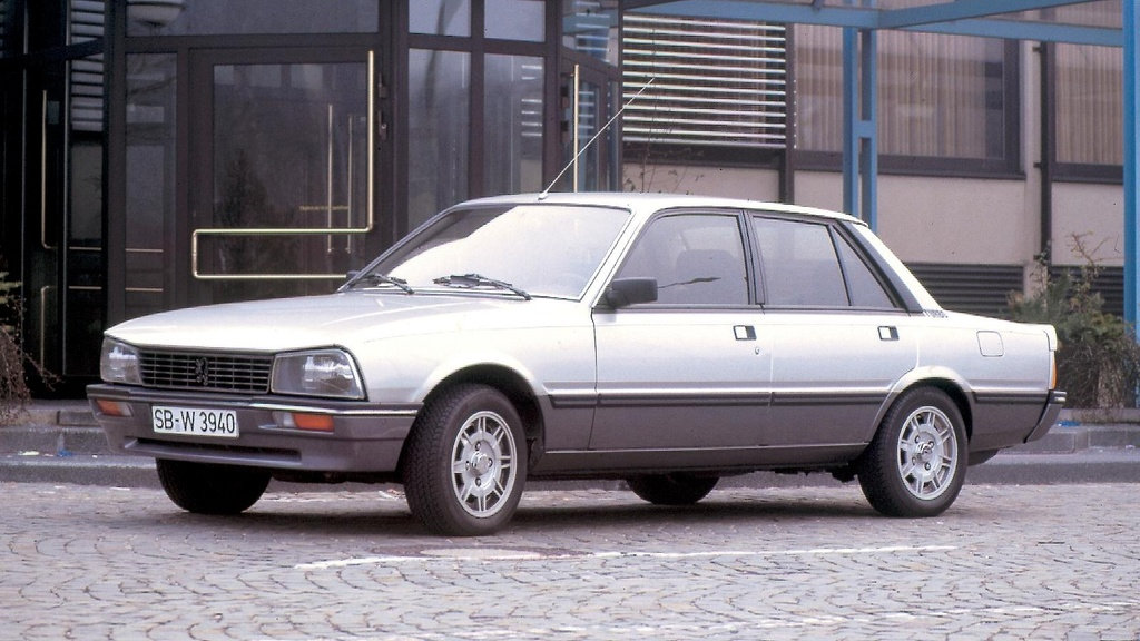 Coche del día: Peugeot 505 Turbo Injection