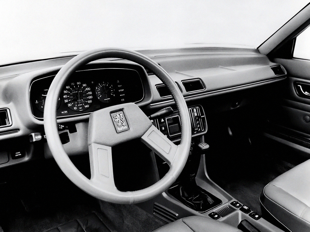 Peugeot 505 Turbo Injection 1983 4