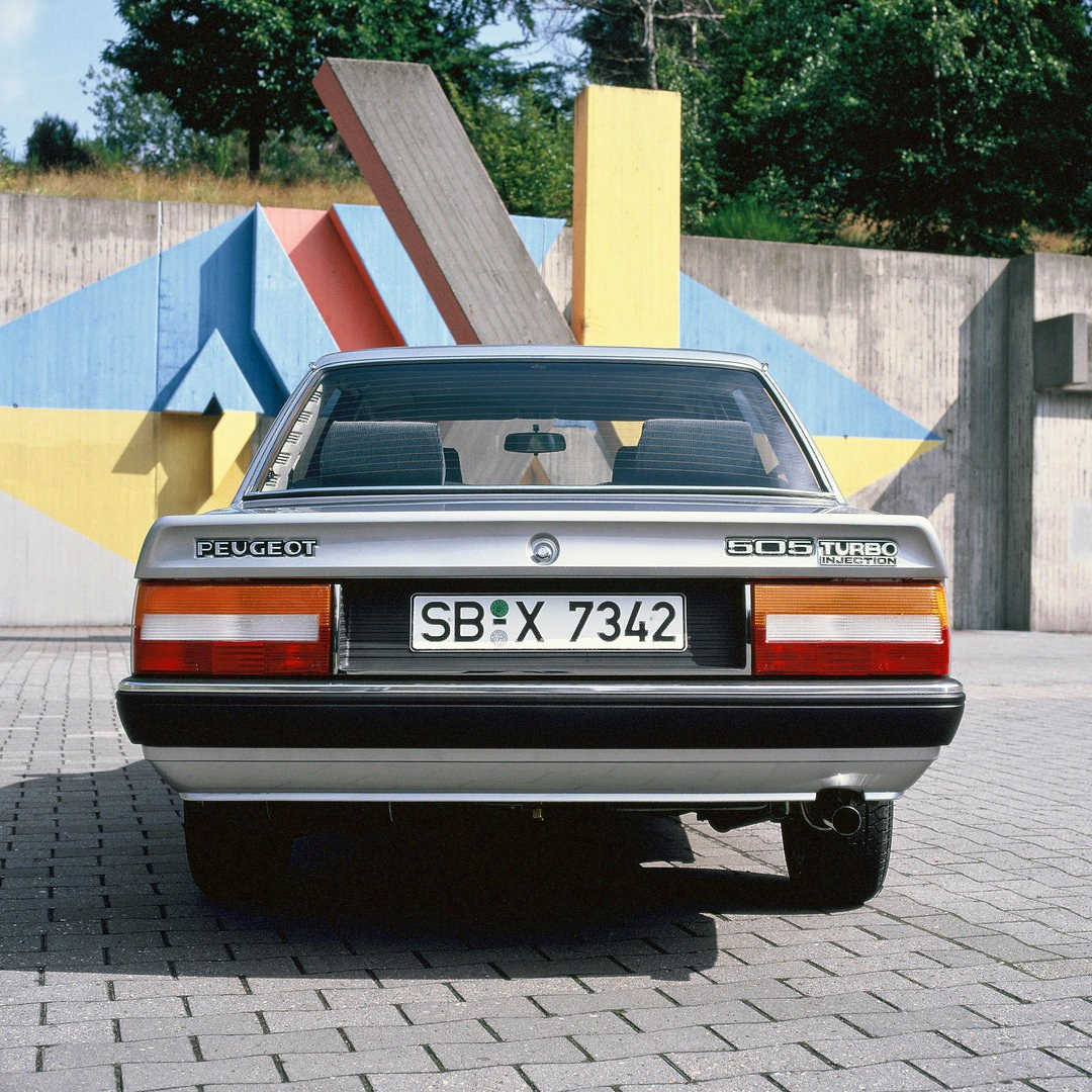 Peugeot 505 Turbo Injection 1986 2