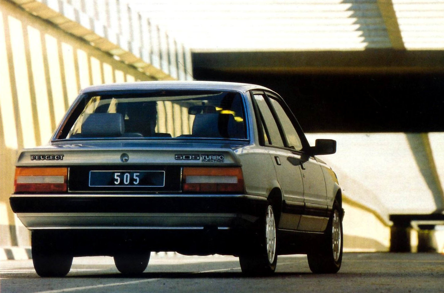 Peugeot 505 Turbo Injection 1986 3
