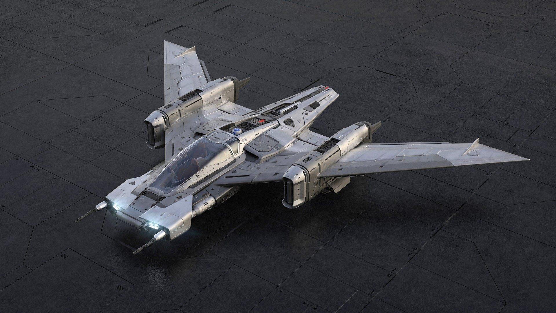 Lo último de Porsche es una nave espacial para Star Wars