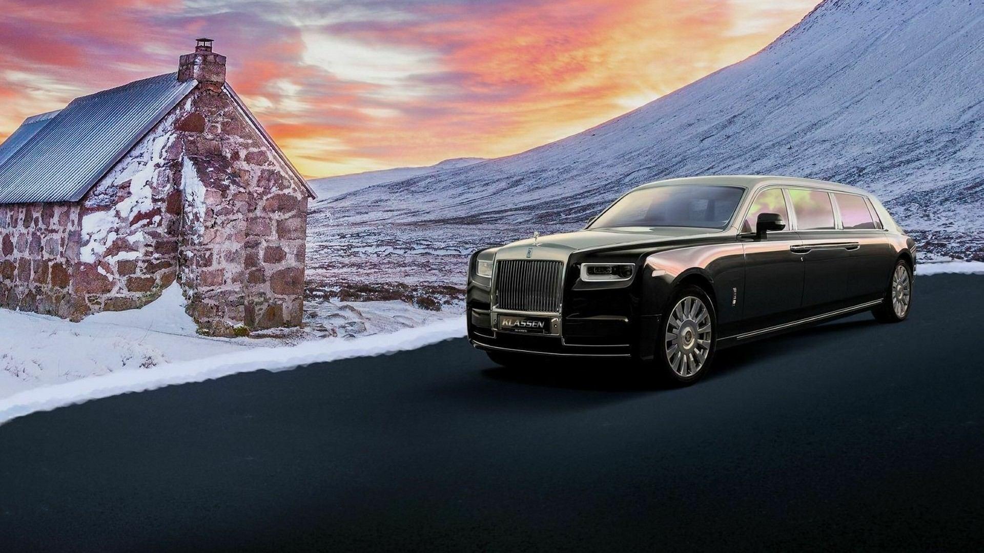 Klassen convierte en una limusina blindada al Rolls-Royce Phantom