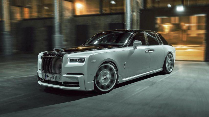 El Rolls-Royce Phantom recibe un extra de deportividad de la mano de Spofec