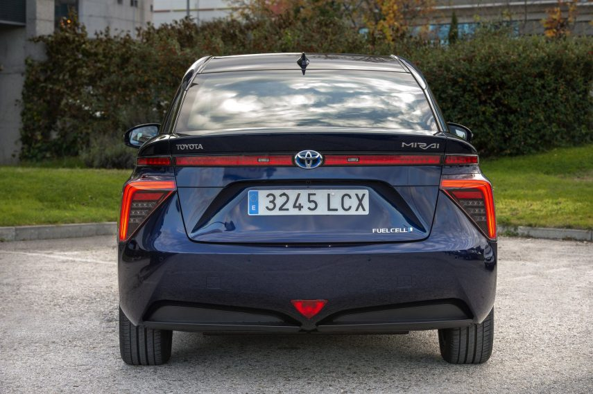 El Toyota Mirai ya tiene matrícula española