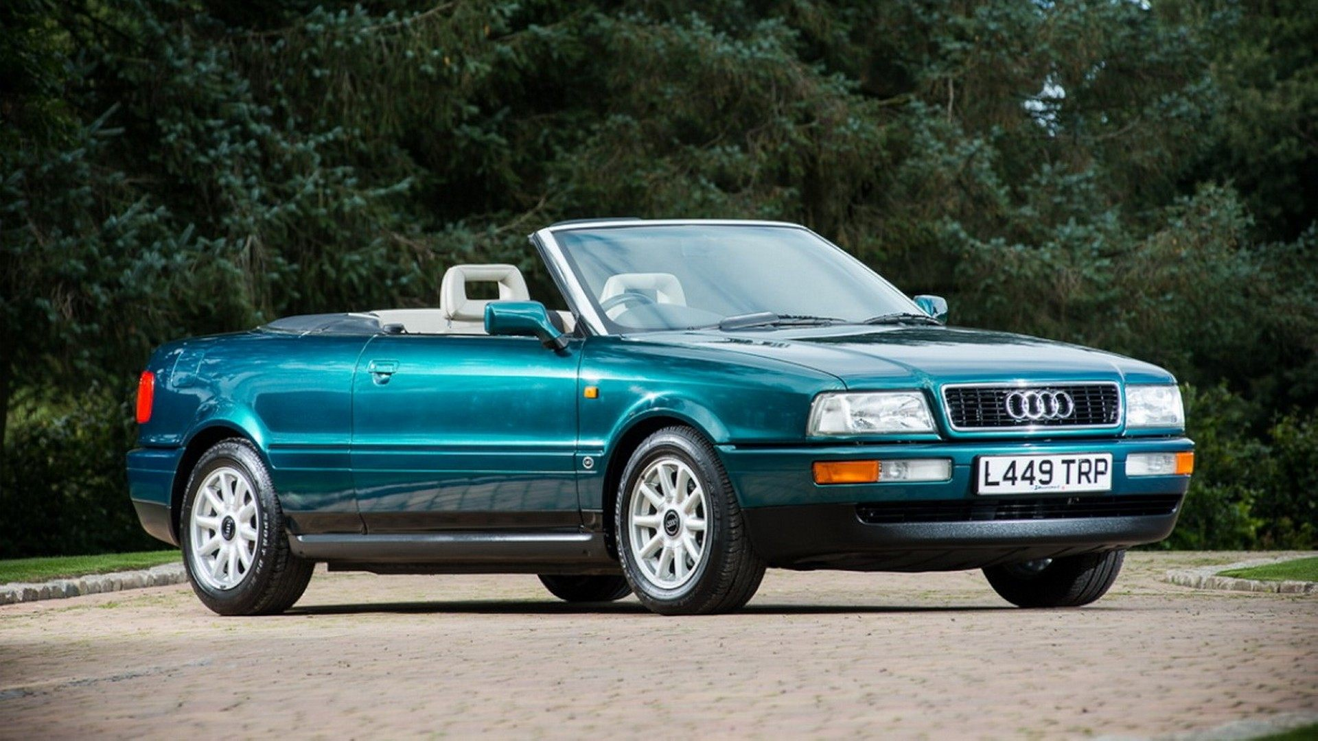 El Audi 80 Cabriolet de Lady Di vuelve a subasta
