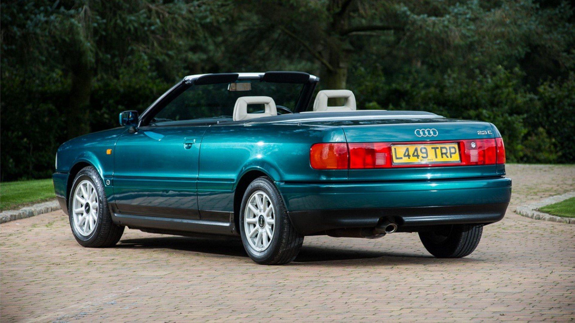 1994 Audi 80 Cabriolet Lady Di (2)