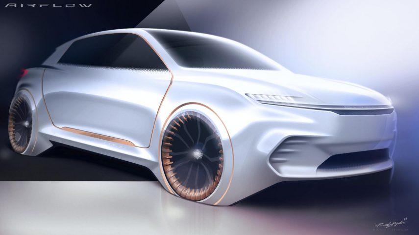 Fiat Chrysler Automobiles Airflow Vision Concept: mirando al futuro desde el pasado