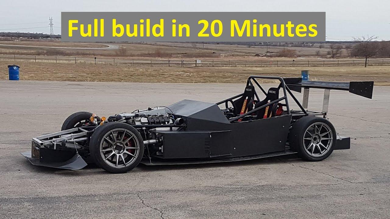 Project E55 ASL: Cómo construir tu propio coche de carreras