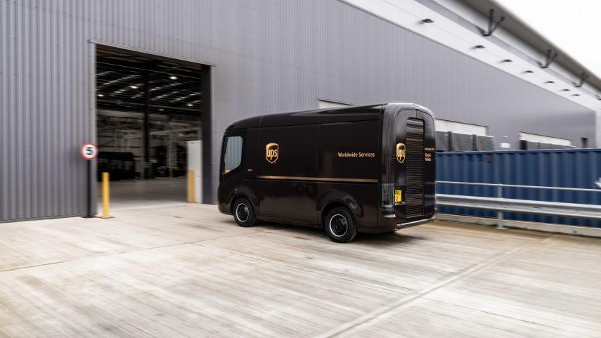 Arrival proporcionará a UPS 10.000 furgonetas eléctricas Generation 2