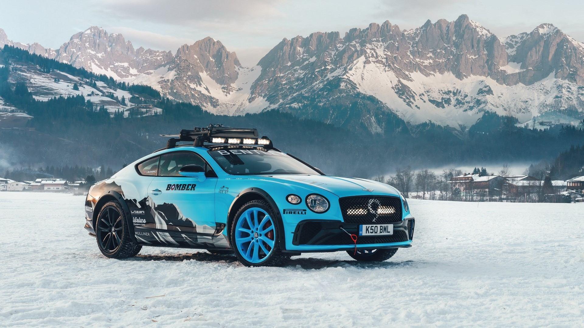 Bentley Continental GT Ice Race, preparado para asaltar la nieve
