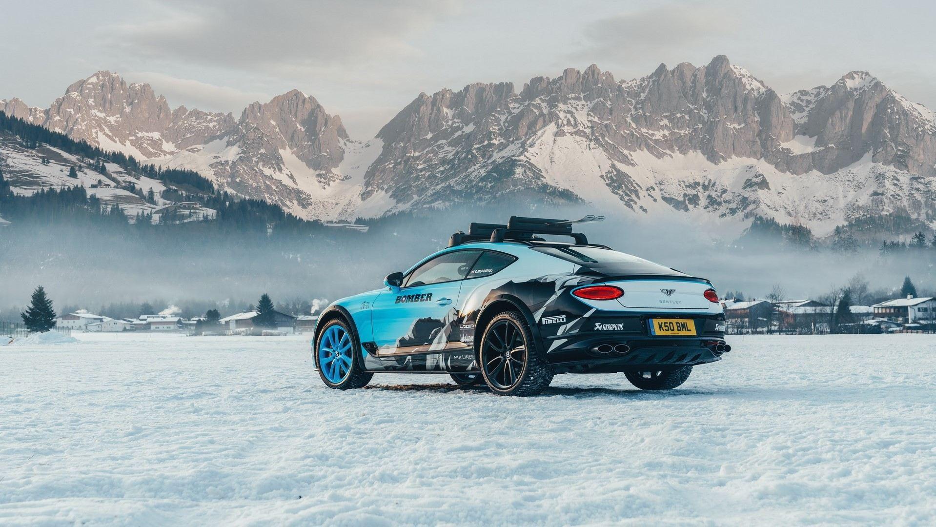 Bentley Continental GT Ice Race 2020 (2)