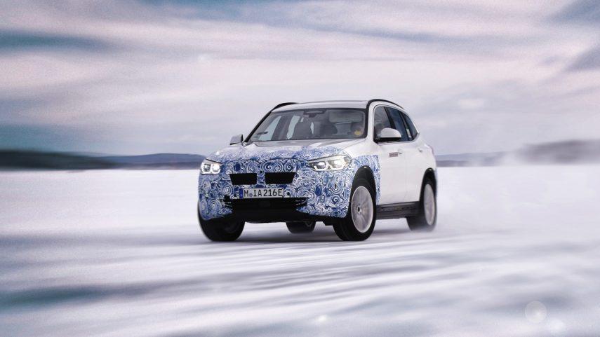 El BMW iX3 estrenará la quinta generación de la tecnología eDrive de la marca