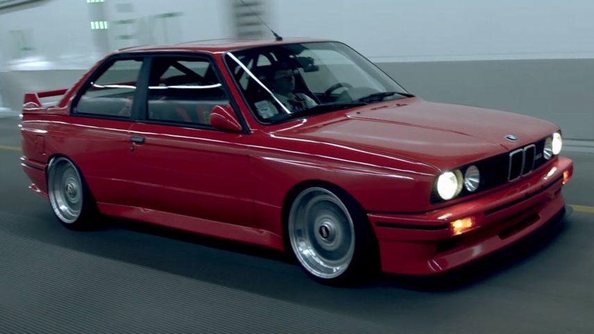 Conducir un BMW M3 (E30) no solo es divertido, también es terapeútico