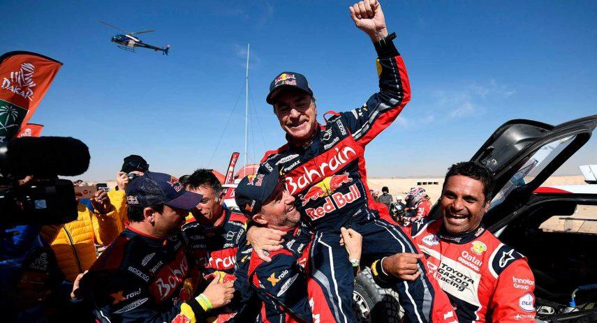 Carlos Sainz Dakar 2020
