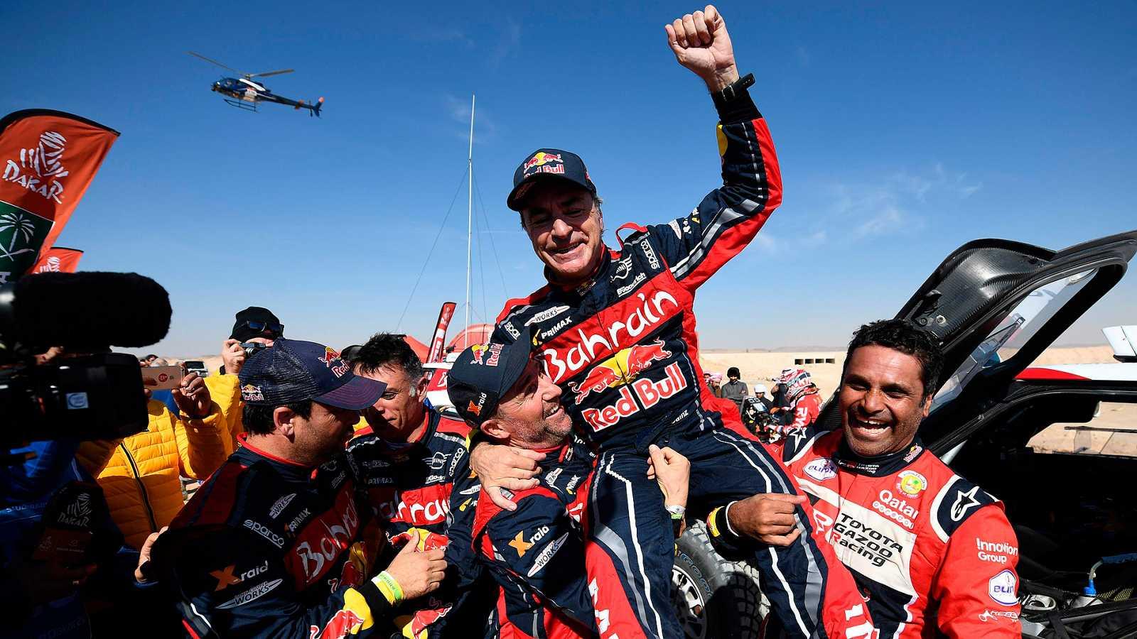 Carlos Sainz y Lucas Cruz vencen en el Dakar 2020