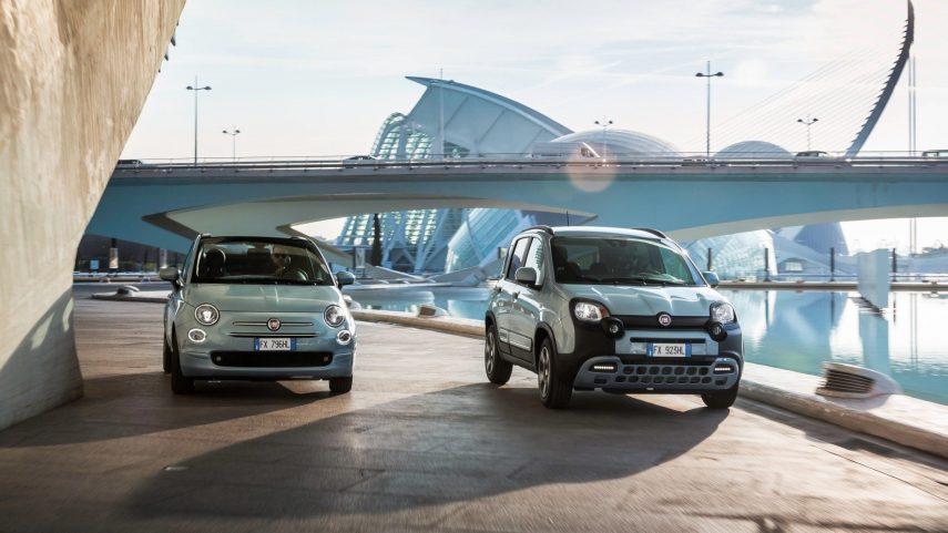 Nuevos Fiat 500 y Panda Hybrid, estos sí que son híbridos