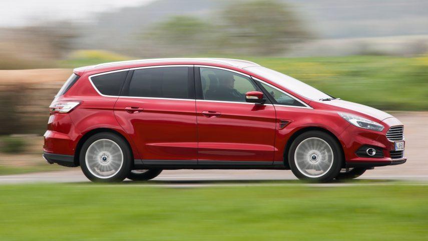Los Ford S-Max y Ford Galaxy tendrán su respectiva versión híbrida