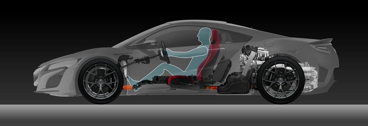 Honda NSX Chasis