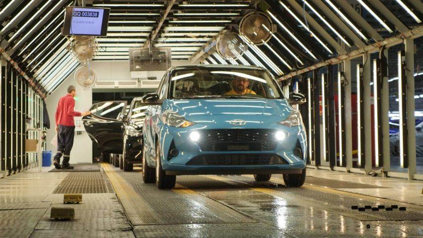El Hyundai i10 ha comenzado a salir de la línea de producción