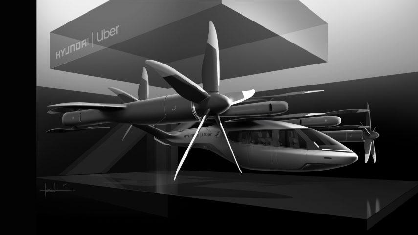 Hyundai y Uber se alían para crear un servicio de taxis aéreos