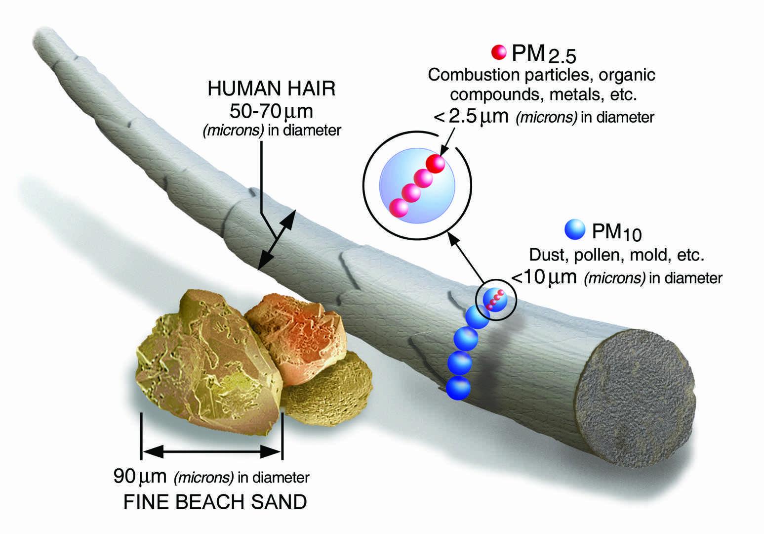 Particulas PM25 EPA