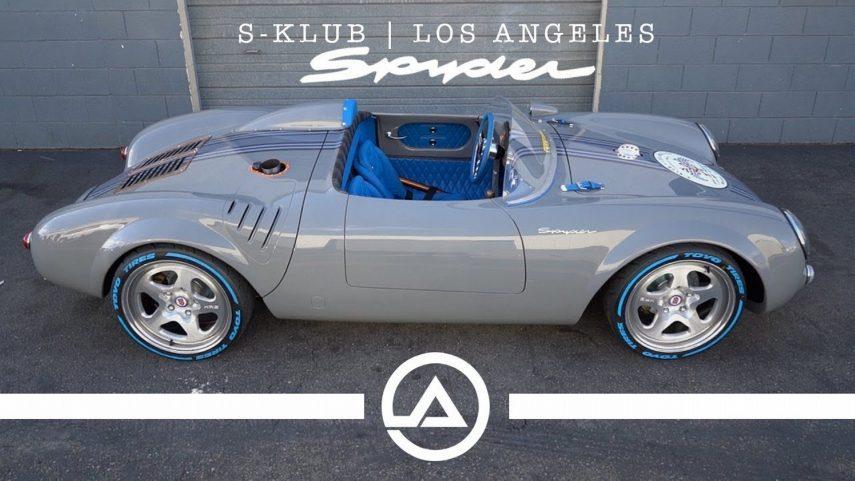 Esta réplica del Porsche 550 Spyder no solo luce espectacular