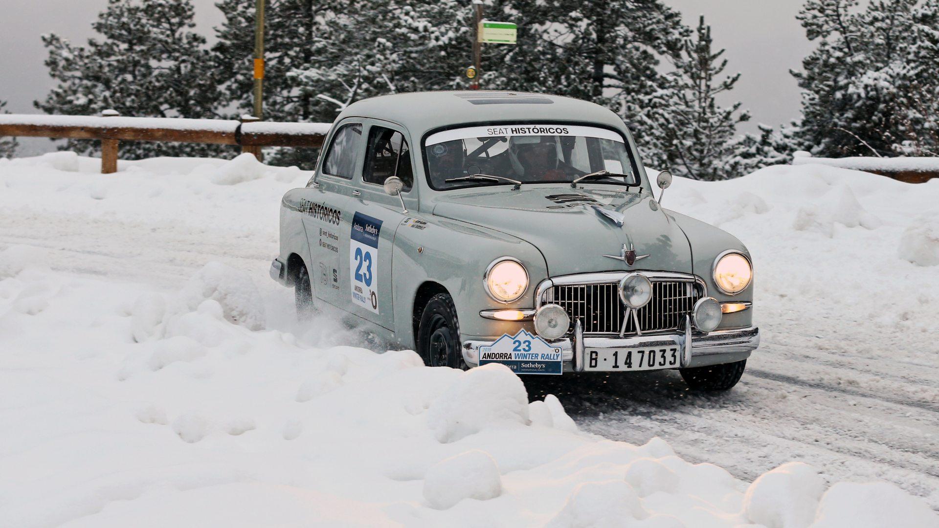 El SEAT 1400 vuelve al Rallye de Montecarlo