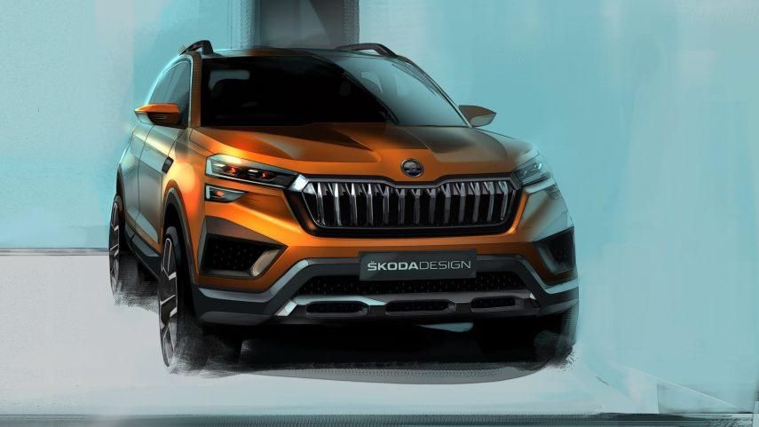 Škoda Vision IN, un nuevo y pequeño SUV creado para la India