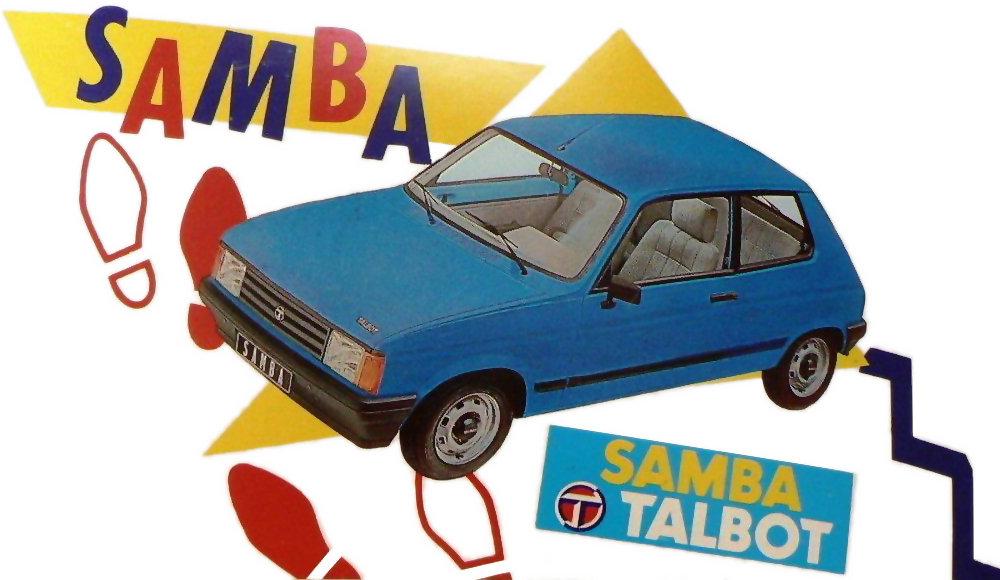 Coche del día: Talbot Samba GL 5v