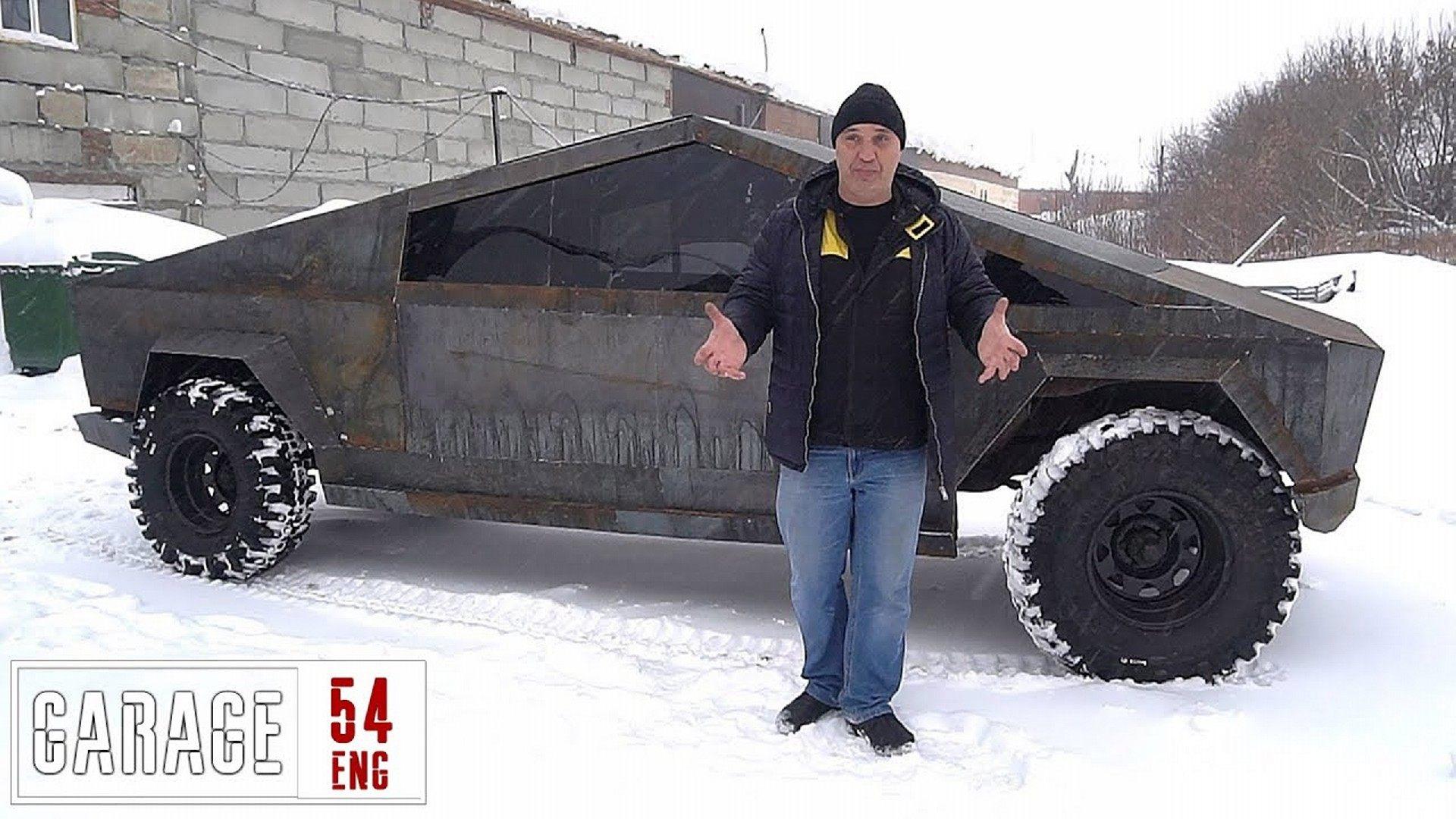 Así es la Tesla Cybertruck de concepción rusa