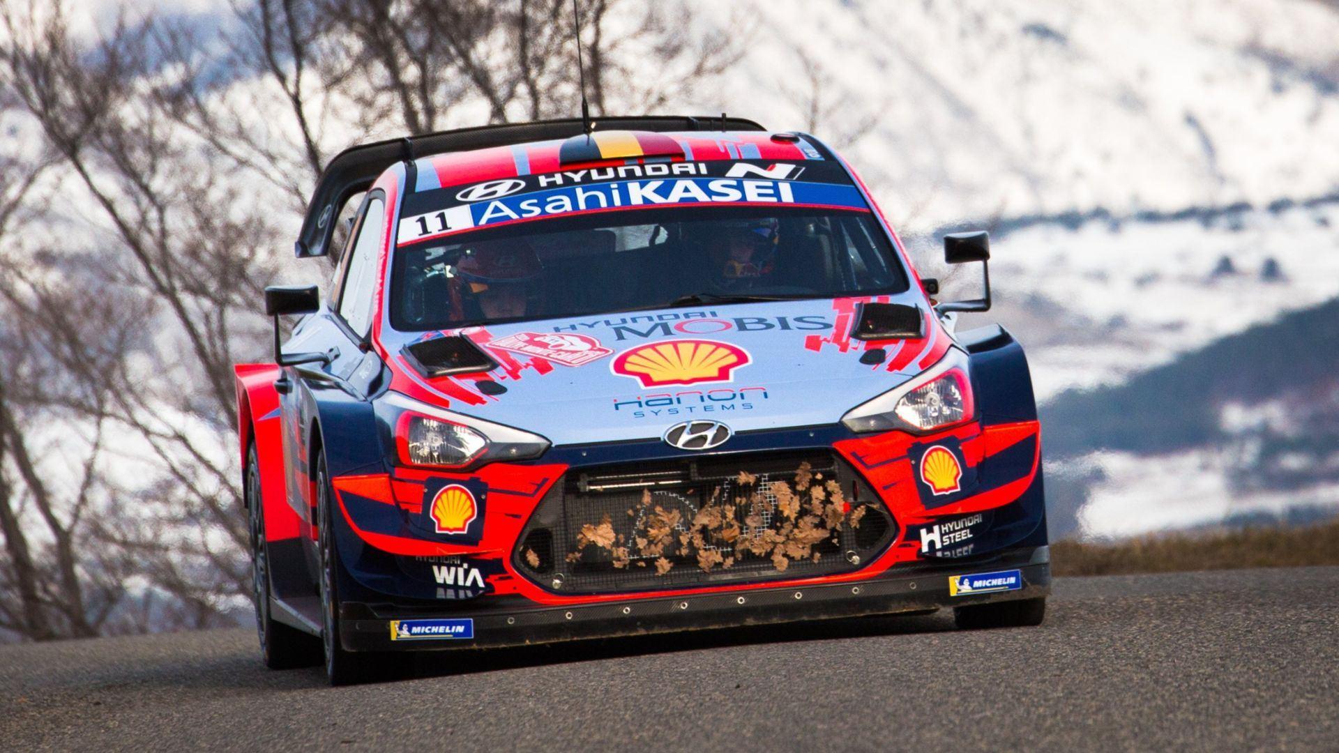 Hyundai gana la primera prueba del WRC 2020