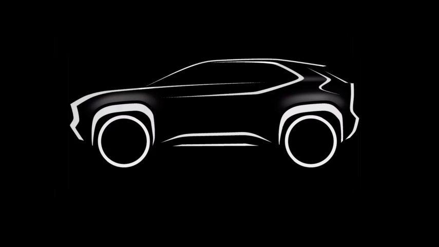 Toyota fabricará un B-SUV sobre la plataforma del Yaris