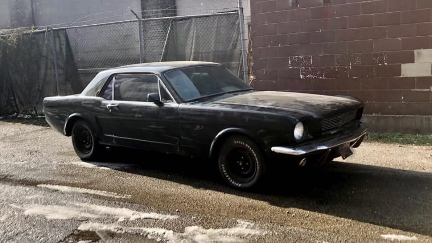 "Ford ""Z-Tang"", un Mustang de 1966 más raro de lo que parece"