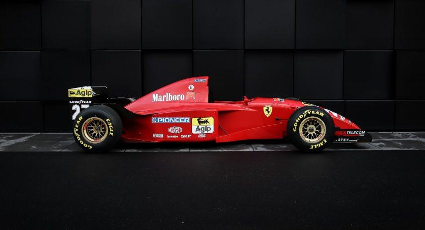 1995 Ferrari 412 T2 Michael Schumacher (2)