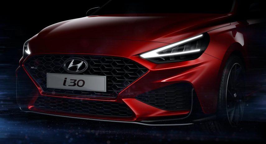 2020 Hyundai i30 N Line Teaser (2)