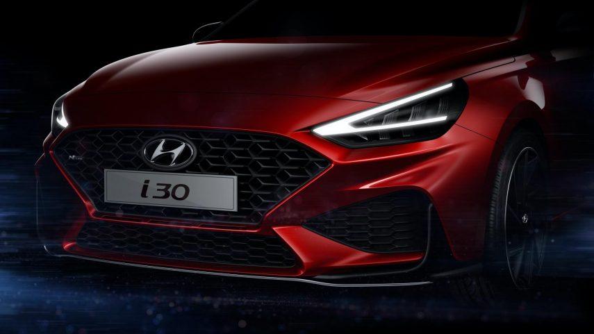 El «nuevo» Hyundai i30 N Line promete ser agresivo
