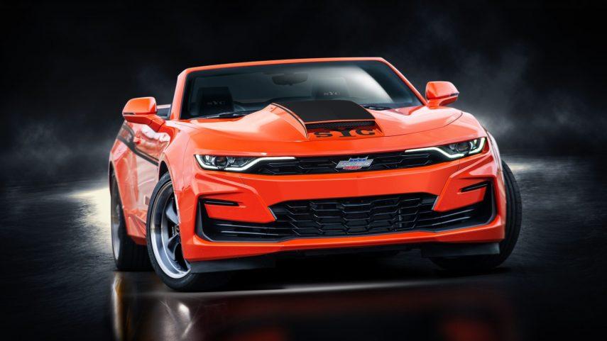 Date el placer de conocer al 2020 Yenko Chevrolet Camaro Convertible