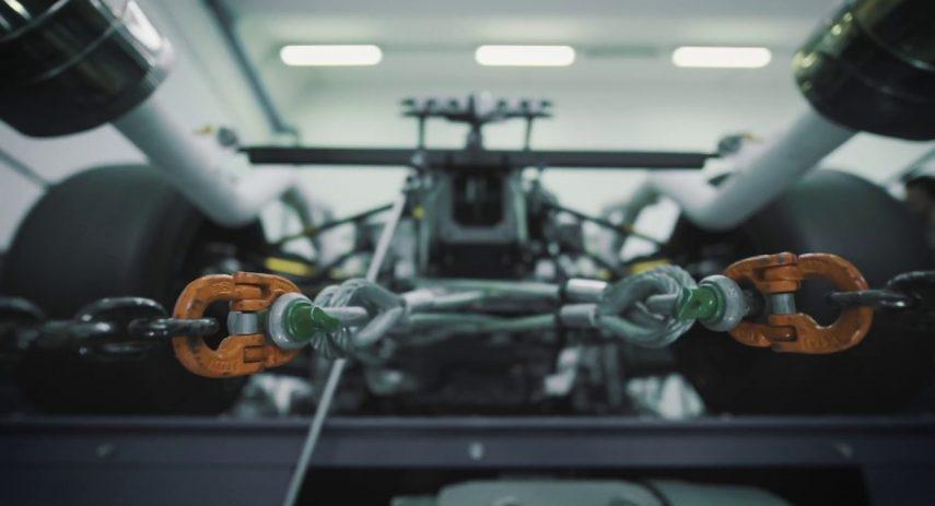 Lamborghini's V12 track only hypercar fires up