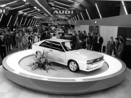 Audi Salon Ginebra 1980