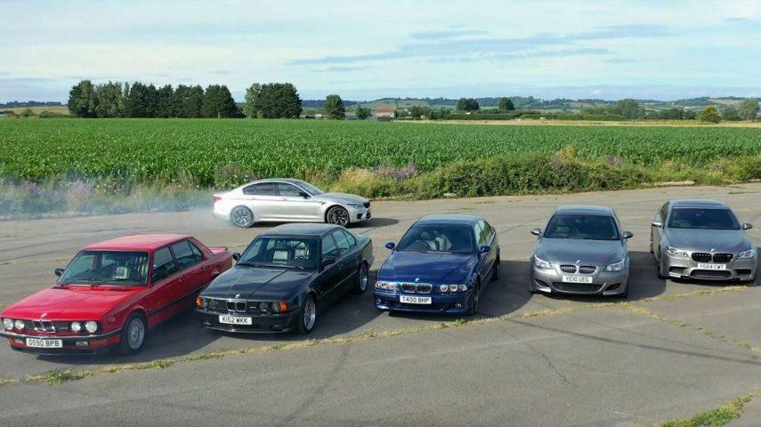 Tiff Needell nos enseña las bondades del BMW M5