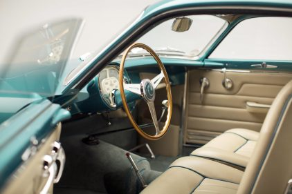 Fiat 8V Supersonic Coupe Ghia 0049 interior