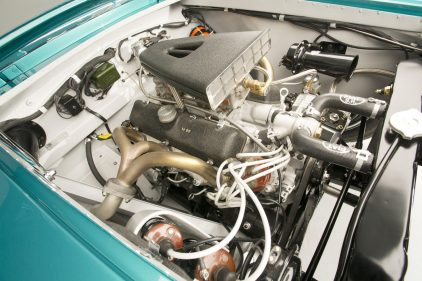 Fiat 8V Supersonic Coupe Ghia 0049 motor
