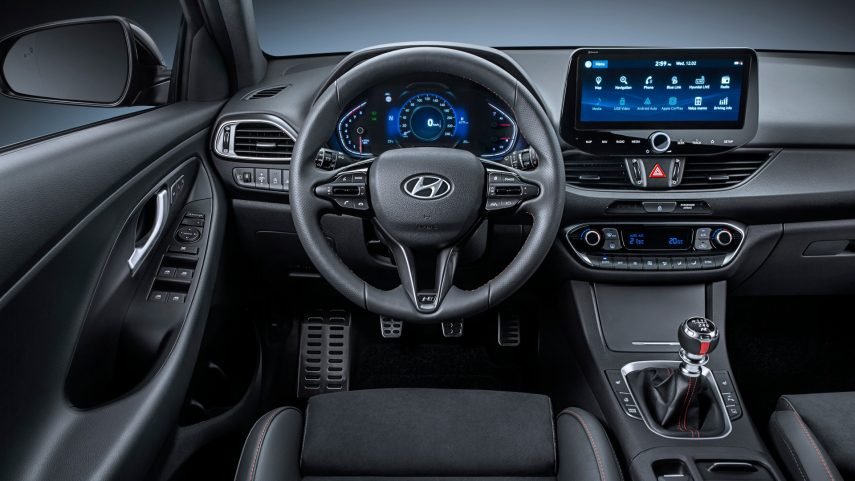 Hyundai N Line interior (2)