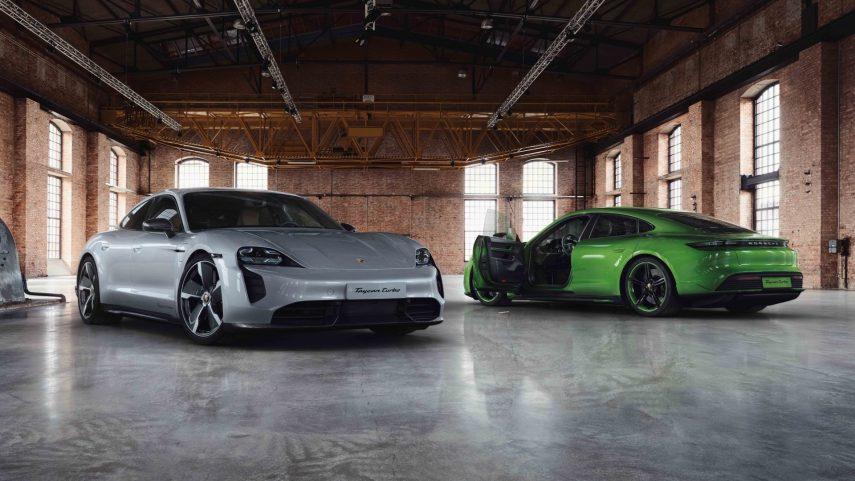 El Porsche Taycan recibe el tratamiento de la casa Exclusive Manufaktur