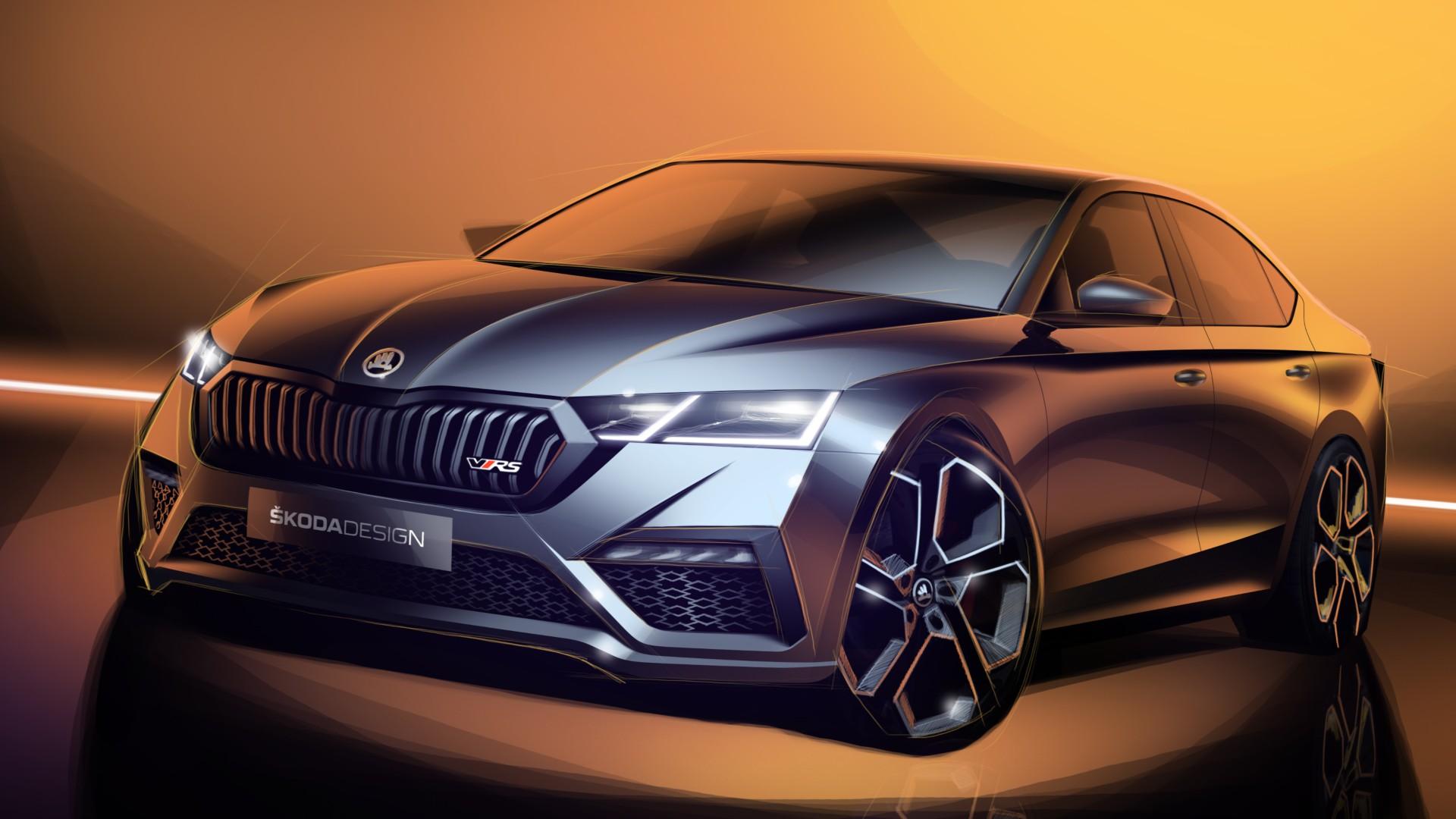El Skoda Octavia RS iV se presentará en Ginebra