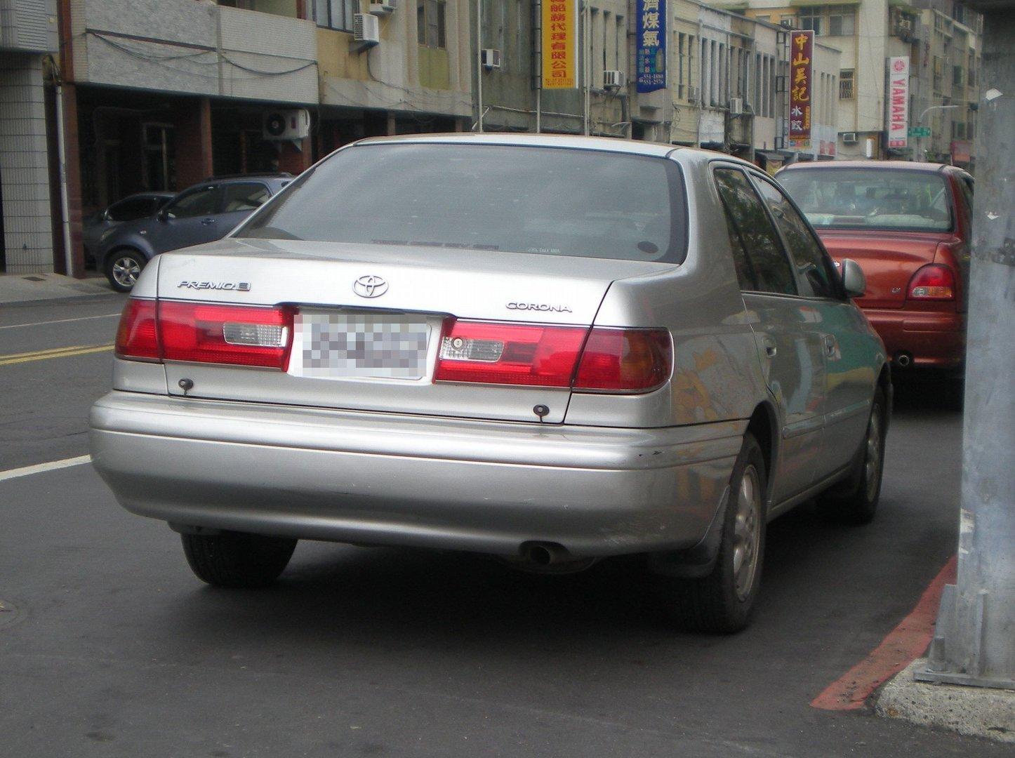 Taiwán entra en pánico: un chino iba conduciendo un Toyota Corona
