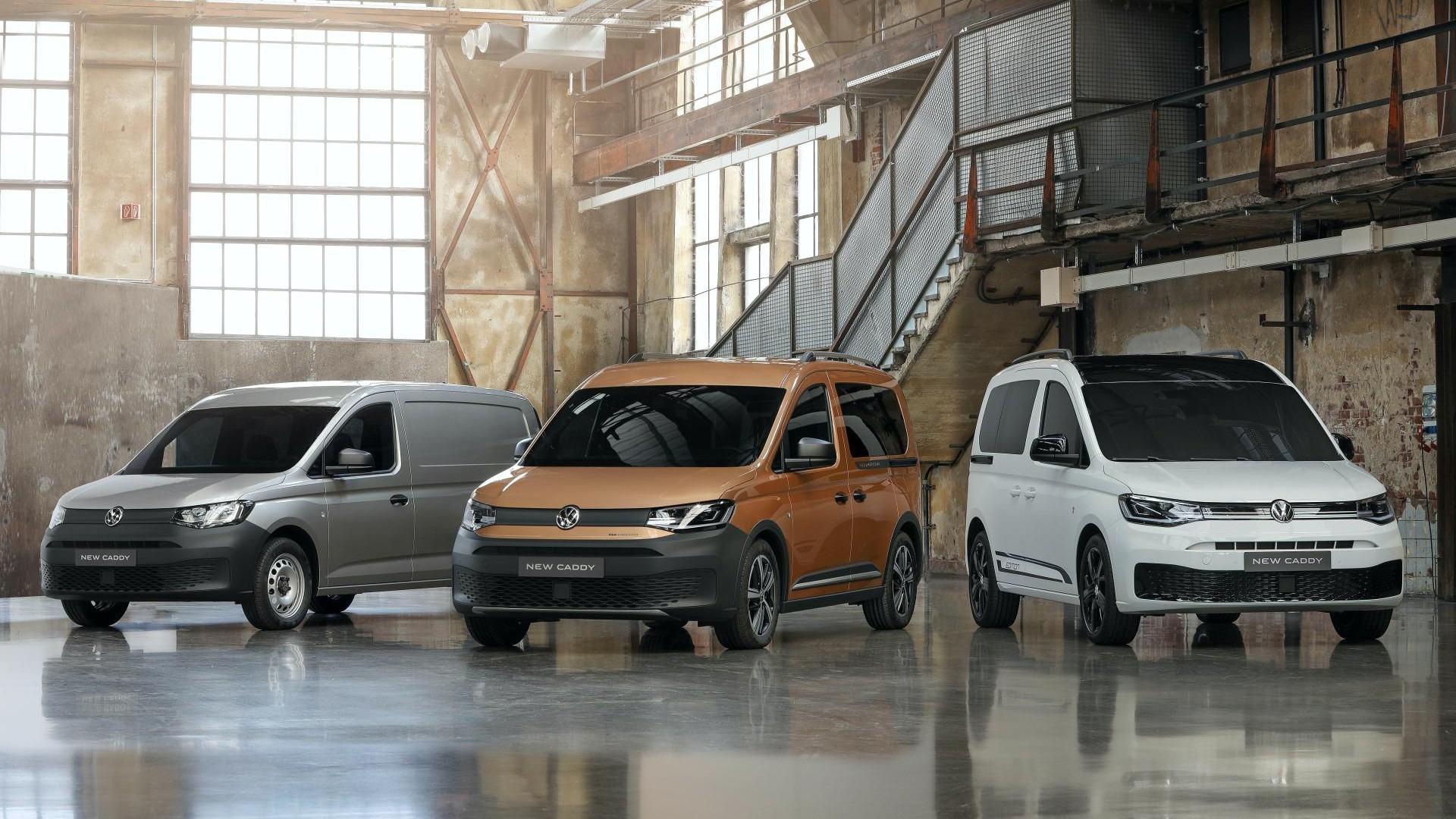 Volkswagen Caddy 2020: nuevo modelo, nuevo estilo